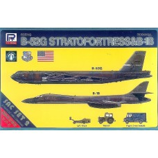 Pit Road 1:700 B52G & Rockwell B1B Plastic Model Kit