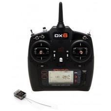 Spektrum DX6 G3 6 Channel DSMX Radio System SPM6755