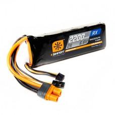 Spektrum 2200mAh 2S 6.6V Smart LiFe Receiver Battery