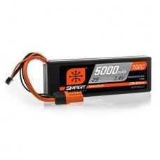 Spektrum 5000mAh 2S 7.4V 100C Smart LiPo Hardcase
