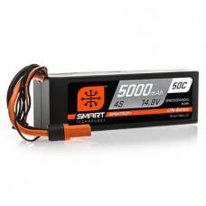 Spektrum 5000mAh 4S 14.8V 50C Smart LiPo Hardcase