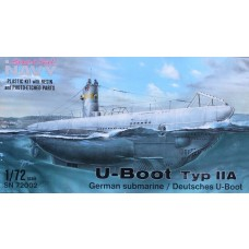 Special Navy 1:72 Type IIA U-Boat Plastic Model Kit