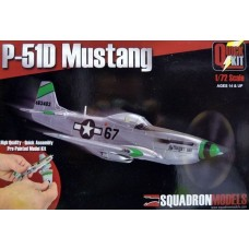 Squadron Model 1/72 P-51D Mustang Plastic Model Kit