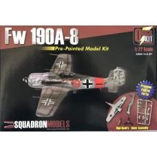 Squadron Model 1/72 Fw.190A-8 Plastic Model Kit