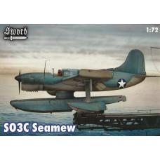 Sword Models 1/72 SO3C1 Seamew WWII USN Observation Plastic Model Kit
