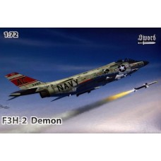 Sword Models 1/72 F3H2 Demon USN Plastic Model Kit