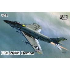 Sword Models 1/72 F3H2N/M Demon USN Plastic Model Kit