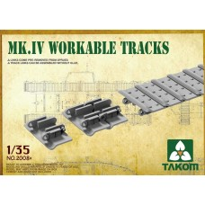 Takom 1:35 Mk IV workable track Plastic Model Kit