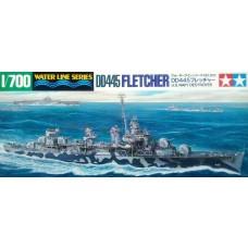 Tamiya 1:700 USN DD445 Fletcher Plastic Model Kit