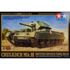 Tamiya 1/48 Crusader Mk.III Tank Plastic Model Kit