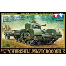 Tamiya 1/48 British Tank Churchill Mk Plastic Model Kit