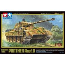 Tamiya 1:48 German Tank Panther Ausf D Plastic Model Kit