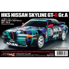 Tamiya 1/10 HKS Nissan Skyline GT-R TT-01 Type E