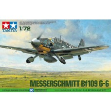 Tamiya 1/72 Messerschmitt Bf109 G-6 Plastic Model Kit