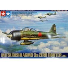 Tamiya 1:48 Mitsubishi A6M3:3a (Zeke) Plastic Model Kit