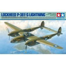 Tamiya 1:48 Lockheed P-38 F/G Lightning Plastic Model Kit