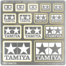 Tamiya Photo-Etched Logo Plate Set