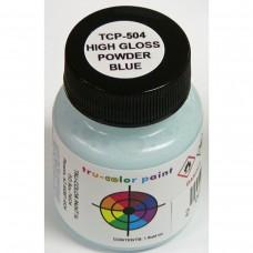 Tru-Color Powder Blue 1oz Paint Bottle