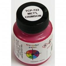 Tru-Color Metallic Crimson 1oz Paint Bottle