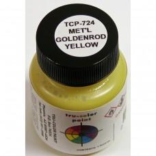 Tru-Color Metallic Goldenrod 1oz Paint Bottle