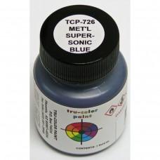 Tru-Color Metallic Supersonic Blue 1oz Paint Bottle