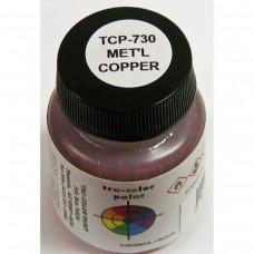 Tru-Color Metallic Copper 1oz Paint Bottle