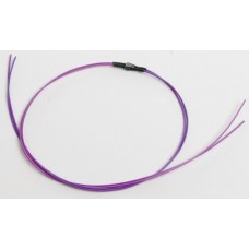 Train Control Systems 2-Pin Micro Connector Purple Wires