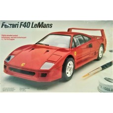 Testors 1/24 Ferrari F40 LeMans Plastic Model Kit