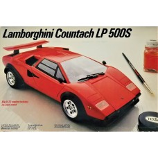 Testors 1/24 Lamborghini LP500S Plastic Model Kit