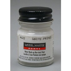 Testors Semi-Gloss White Primer 1/2 oz Acrylic Paint
