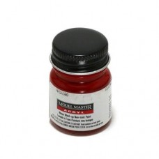 Testors Gloss Clear Red 1/2 oz Acrylic Paint