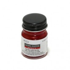 Testors Gloss Stop Light Red 1/2 oz Acrylic Paint