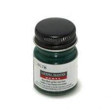 Testors Gloss Dark Green Pearl 1/2 oz Acrylic Paint