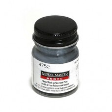 Testors Flat Gunship Gray 1/2 oz Acrylic Paint