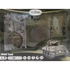 Testors 1:32 Quick Build M4A3 Tank Plastic Model Kit