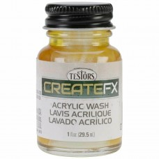 Testors FX Acrylic Stain Hickory 1 oz Paint Bottle
