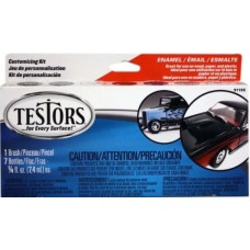 Testors Custom Enamel Car Color Paint Set