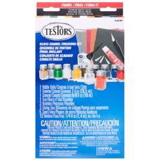 Testors Gloss Finish Model Finishing Paint Set
