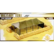 Toxso Model 1:72 Military Tent Plastic Model Kit