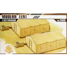 Toxso Model 1:72 Modern Tent Plastic Model Kit