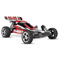 Traxxas Bandit Brushed 1/10 Buggy RTR Red 24054-1
