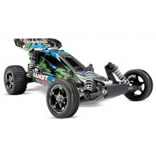 Traxxas Bandit VXL 1/10 Scale Brushless Buggy Green