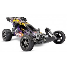Traxxas Bandit VXL 1/10 Scale Brushless Buggy Purple