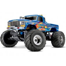 Traxxas Classic Bigfoot 1/10 Scale Truck RTR Retro Blue Flame