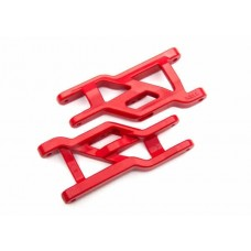 Traxxas Heavy Duty Front Suspension Arms Red 3631R