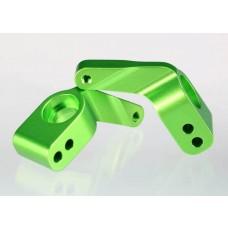 Traxxas Green Aluminum Steering Blocks 3636G