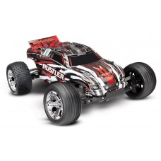 Traxxas Rustler Brushed 1/10 Truck RTR Red