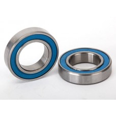 Traxxas Ball bearings blue rubber sealed (12x21x5mm) (2)