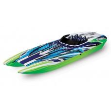 "Traxxas DCB M41 Widebody 40"" Brushless Race Boat GreenX 57046-4"