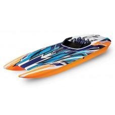 "Traxxas DCB M41 Widebody 40"" Brushless Race Boat OrangeX 57046-4"
